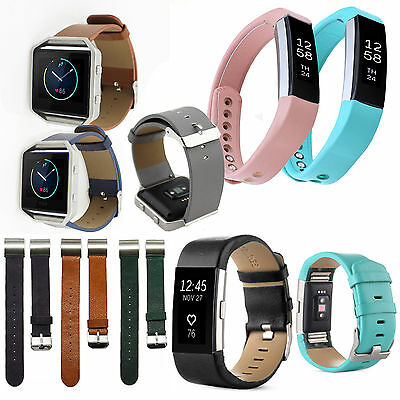 $ CDN19.21 • Buy FitBit Alta Alta HR Charge 2 Blaze Leather Wristband Strap Band Bracelet