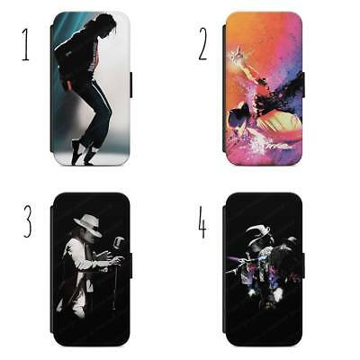 £9.36 • Buy Michael Jackson Pop King Flip Wallet Phone Case Cover For All IPhone & Samsung