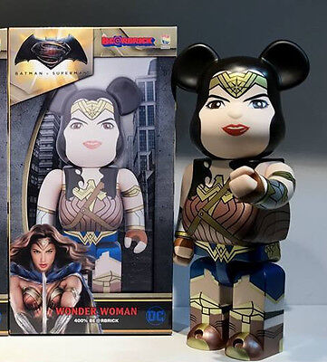 $130 • Buy Medicom Toy Batman Vs Superman - Wonder Woman 400% Be@rbrick Bearbrick