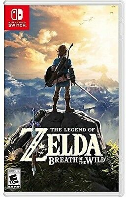 $60.09 • Buy The Legend Of Zelda: Breath Of The Wild For Nintendo Switch [New Switch]