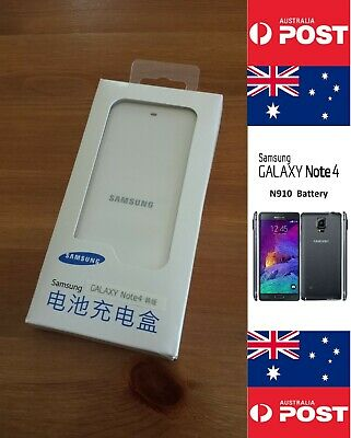 AU18 • Buy Samsung Note 4 N910 White Charger Dock - Without Battery - Local Seller