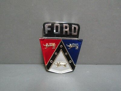 $44.95 • Buy 50 51 52 53 54 Ford Trunk Emblem 55 56 Except Fairlane Ford Licensed