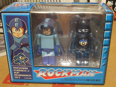 $59.90 • Buy Rockman Kubrick & 1-Up Bearbrick Set (2010) New Factory Sealed Box Japan Import
