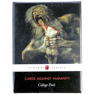 AU19.85 • Buy Cards Against Humanity College Pack 30 Brand New Cards About Learning & Throw Up