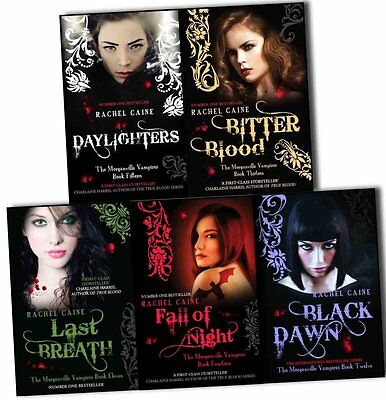 £229.26 • Buy The Morganville Vampires Rachel Caine Series 3 Collection 5 Books Set Daylighter