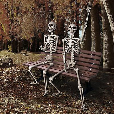 $ CDN63.31 • Buy PRE-SALES 5 FT Full Body Skeleton Props Movable Joints Haunted House Halloween