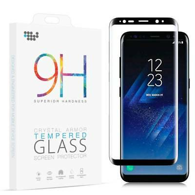 $ CDN3.15 • Buy HD Full Cover Tempered Glass Screen Protector For Samsung Galaxy S8/S9+ Note 8/9