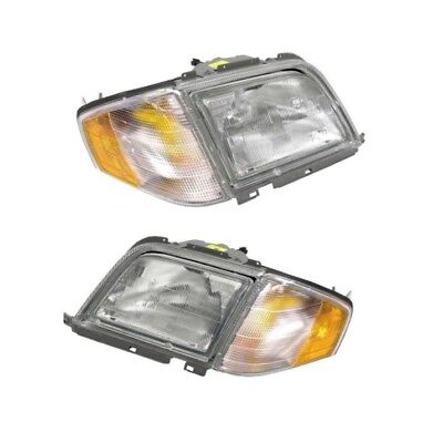 $681.92 • Buy Mercedes R129 SL320 SL500 SL600 Halogen Headlights Kit Automotive Lighting New