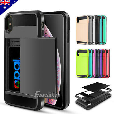 AU6.49 • Buy For Apple IPhone 11 Pro XS Max XR SE Wallet Card Holder Shockproof Case Cover