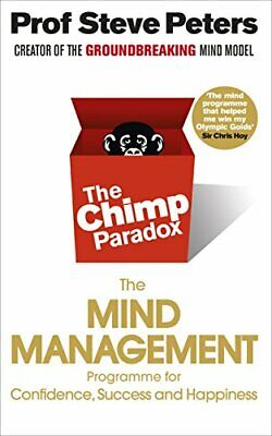 Chimp Paradox By Prof Steve Peters New Paperback Book • 11.31£