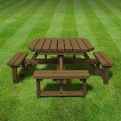 £229.99 • Buy Whitwell Junior Octagonal Wooden Table - Childrens Picnic Bench  - Heavy Duty
