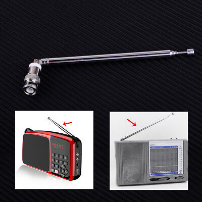 Telescopic Antenna Aerial Q9 BNC Connector Portable FM Radio Scanner VHF UHF • 3.99£