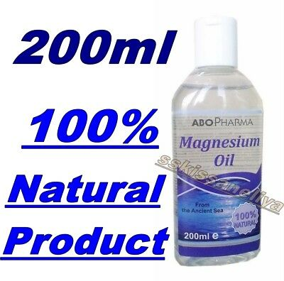 Abo Pharma 100% Natural Product Magnesium Oil 200ml From The Ancient Sea • 8.67£
