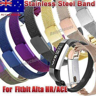 AU10.85 • Buy Stainless Steel Replacement Spare Band Strap For Fitbit Alta / Alta HR AUS