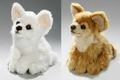 CHIHUAHUA SOFT TEDDY BEAR TOY CUDDLY CRITTERS PLUSH 17cm WHITE FAWN KIDS NEW • 9.99£