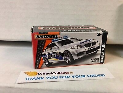 $6.99 • Buy BMW M5 Police * WHITE * Matchbox Power Grabs * YB18
