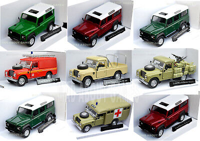 LAND ROVER DEFENDER 90 109 110 1:43 Car Model Cars Die Cast Metal Miniature Toy  • 12.97£