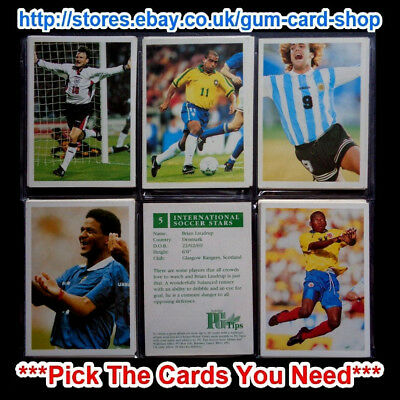Pg Tips International Soccer Stars (g) ***pick The Cards You Need*** • 0.99£