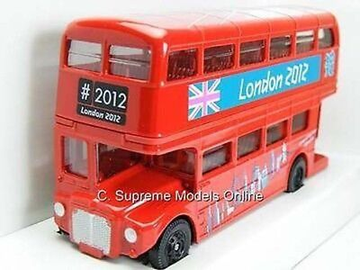 $ CDN13.77 • Buy Red Routemaster Bus Double Decker 1:64 Open Back Corgi Ty82319 Olympics Type Y06