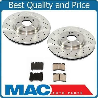 $119.60 • Buy 05-07 Mercedes C230 Sport Package 330MM 4 Piston Caliiper Frt Brake Rotors Pads