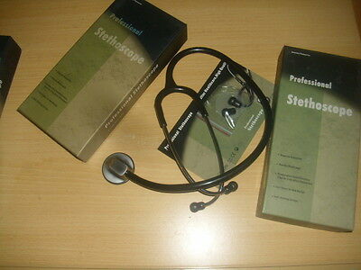 Cardiology Professional Stethoscope, Boxed,ce Approved And  Uk Seller  • 24.99£