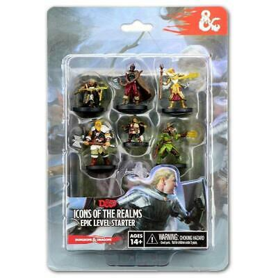 AU33.55 • Buy Dungeons & Dragons D&D Icons Of The Realms Epic Level Starter Board Game