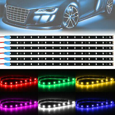 $6.97 • Buy 6-pack Waterproof Flexible DC12V LED Strip Underbody Light For Car Motorcycle