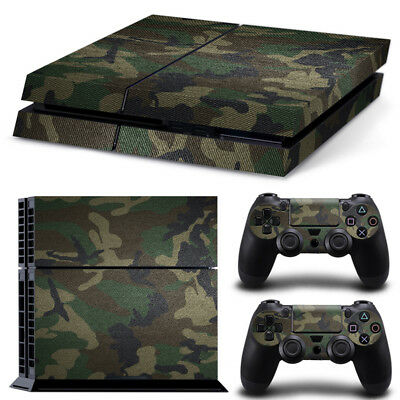 AU9.70 • Buy Camo Camouflage Army PS4 PlayStation Decal Wrap Skin Sticker Console Controller