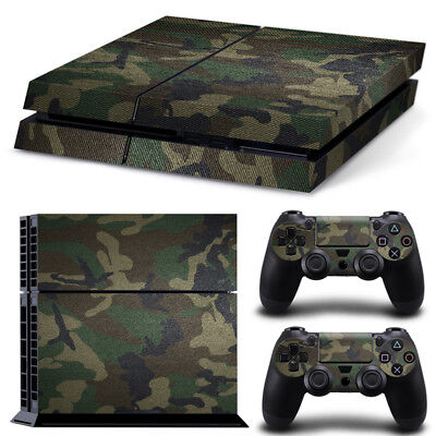 AU8.90 • Buy Camo Camouflage Army PS4 PlayStation Decal Wrap Skin Sticker Console Controller