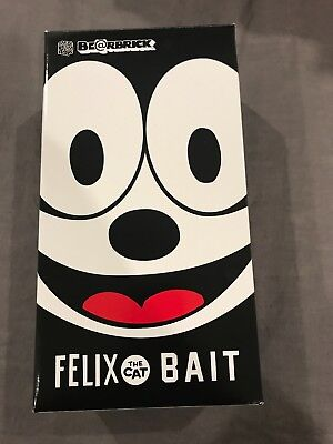$295 • Buy 2016 Felix The Cat Be@rbrick Bearbrick 400% Bait Limited Edition