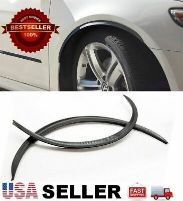 $ CDN16.31 • Buy 2 X 29  Carbon Arch Wide Fender Flare Extension Diffuser Protector Lip For Ford