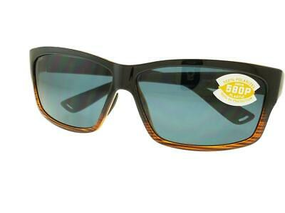 cf0b256d58 Costa Del Mar Cut UT52 OGP Coconut Fade Gray Lenses 580P Men s Sunglasses  NIB • 119.50