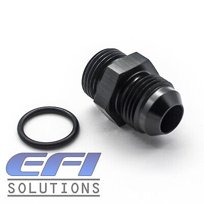 AU5.19 • Buy Straight Male AN8 To AN8 ORB Fitting (Black) 920-08BLK