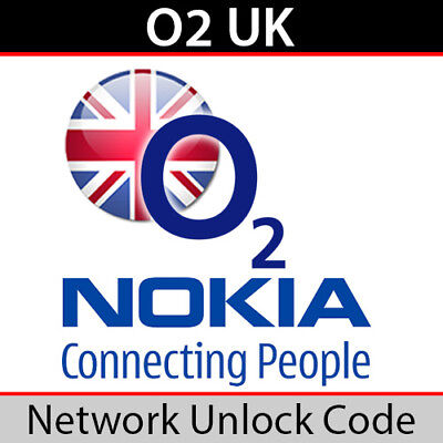 O2UK Nokia Unlock Code • 3.85£