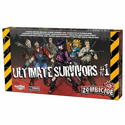AU64.99 • Buy Zombicide Ultimate Survivors Expansion Pack Board Game