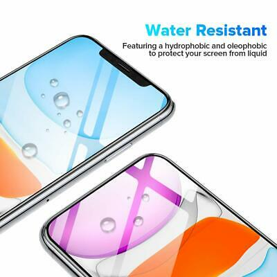 AU5.95 • Buy For Apple IPhone 12 Pro MAX 11 XS Full Cover 9H Tempered Glass Screen Protector