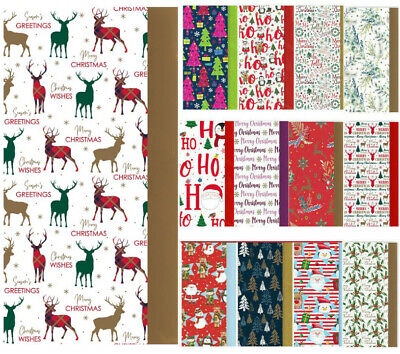 £2.99 • Buy Christmas Tissue Paper Sheets Acid Free 50x66cm Large Luxury Xmas Gift Wrapping
