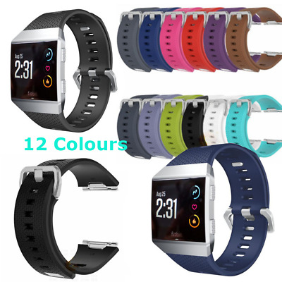 $ CDN8.12 • Buy For Fitbit Ionic Replacement Band Secure Strap Wristband Metal Buckle Tracker