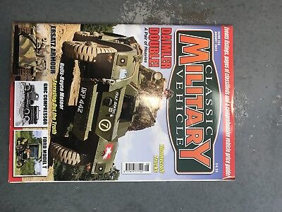 Classic Military Vehicle August 2012 • 3.50£