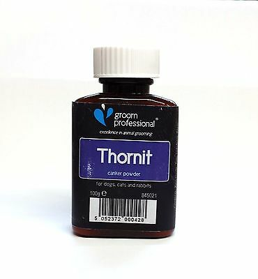 £59.95 • Buy GROOM PROFESSIONAL THORNIT CANKER POWDER  For Dog Cats And Small Animals. 100gr
