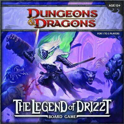 AU94.85 • Buy Dungeons & Dragons D&D Legend Of Drizzt Board Game
