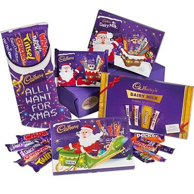 £8.98 • Buy Cadbury Christmas Chocolate Selection Santa Stocking BoxTin Advent Calendar Cake