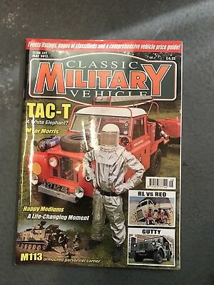 Classic Military Vehicle May 2012 • 3.50£