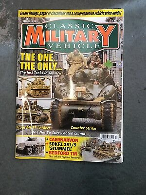 Classic Military Vehicle December 2010 • 3.50£