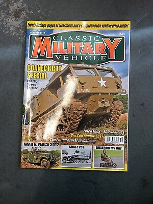 Classic Military Vehicle October 2012 • 3.50£