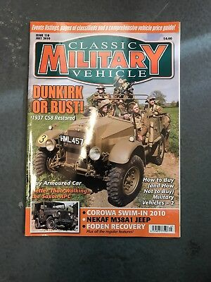 Classic Military Vehicle July 2010 • 3.50£