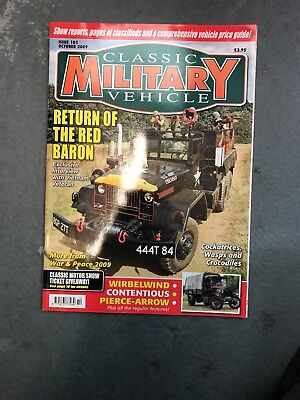 Classic Military Vehicle October 2009 • 3.50£