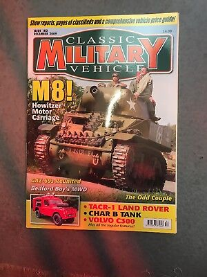 Classic Military Vehicle December 2009 • 3.50£