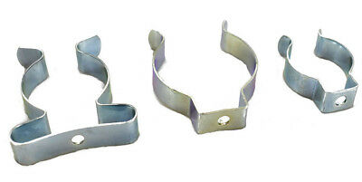 £2.99 • Buy Spring Terry Clips Open/closed Type Spring Steel Tool Clips Heavy Duty Uk Made