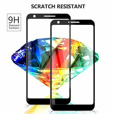 AU4.99 • Buy 9H Full Coverage Tempered Glass Screen Protector For Google Pixel 5 3 4 4A 3A XL